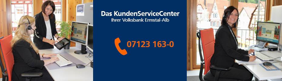 Unser KundenServiceCenter